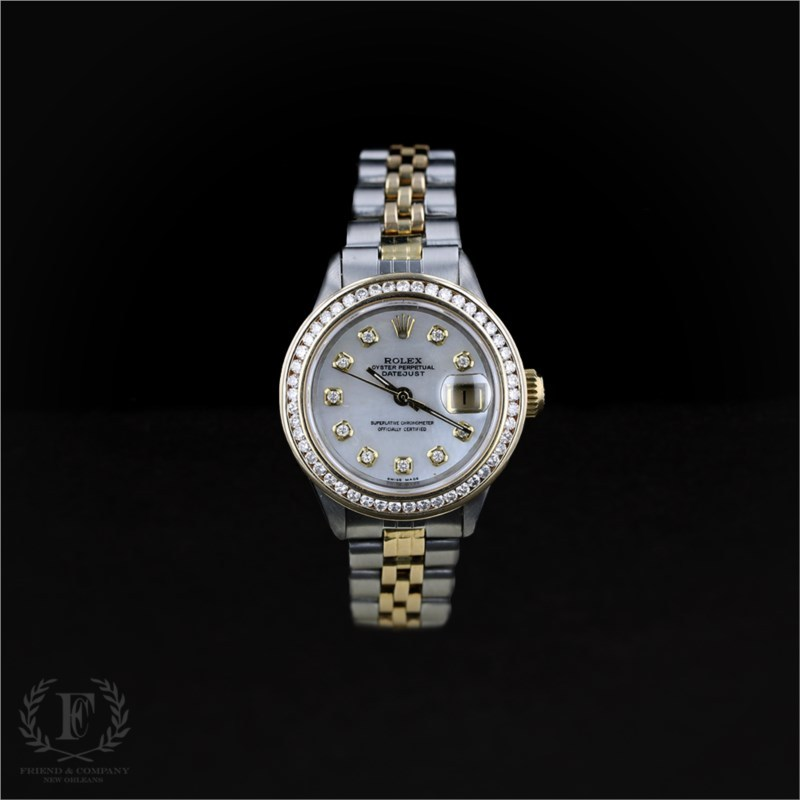 rolex oyster perpetual datejust watch friend and company fine jewelers